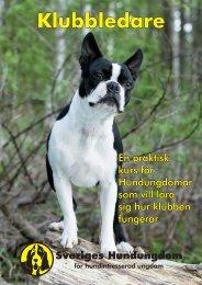 Klubbledare - Sveriges Hundungdom