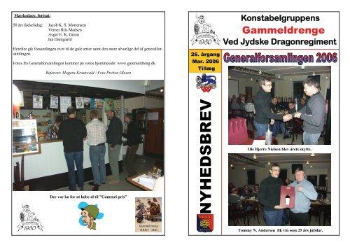 21. Nyhedsbrev 2, marts 2006-Tillæg ... - GammelDreng