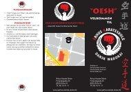 Klub brochure - Århus Karate Skole