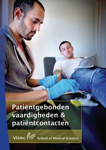 Patiëntgebonden vaardigheden & patiëntcontacten
