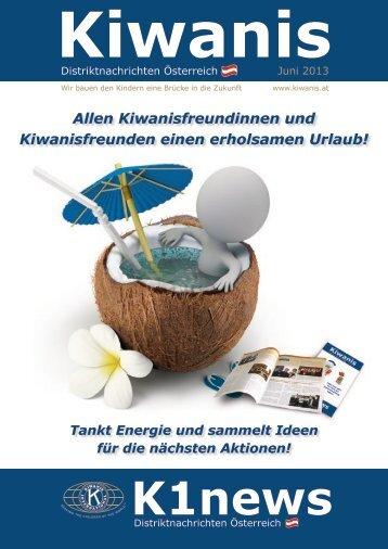K1news - Kiwanis International Distrikt Österreich
