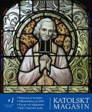 Km 1 2010 - Katolskt Magasin