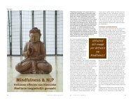 Mindfulness & NLP - Nederlandse Vereniging voor NLP
