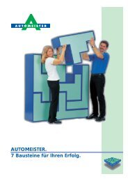 Franchising - AUTOMEISTER