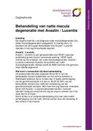 Behandeling natte Macula Degeneratie - Streekziekenhuis Koningin ...