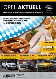 Unsere Hauszeitung als Pdf-Version ... - Auto Exner Gmbh & Co. KG