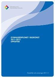 Uppgifterna för gymnasiediplomet i bildkonst 2011-2012 - Edu.fi
