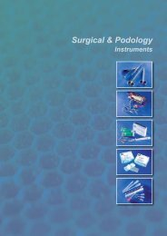 Surgical & Podology - index