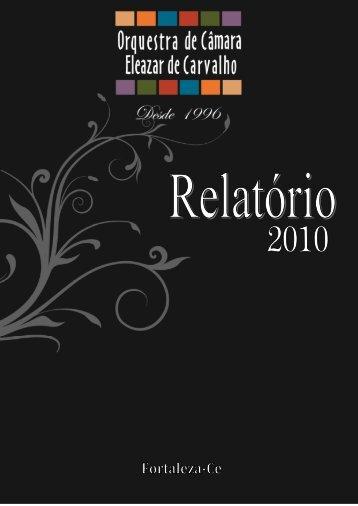 ficha técnica - Orquestra Eleazar de Carvalho