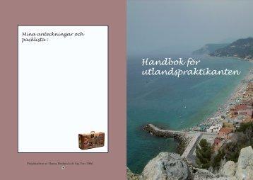 Handbok för utlandspraktik