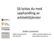 Staffan Carenholm PPT upphandla bygg- och ... - IDG.se