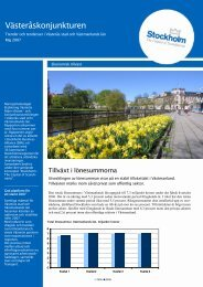 Västeråskonjunkturen för maj 2007 - Västerås stad