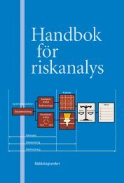 Handbok för riskanalys
