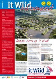 Download brochure - Friesland Campings