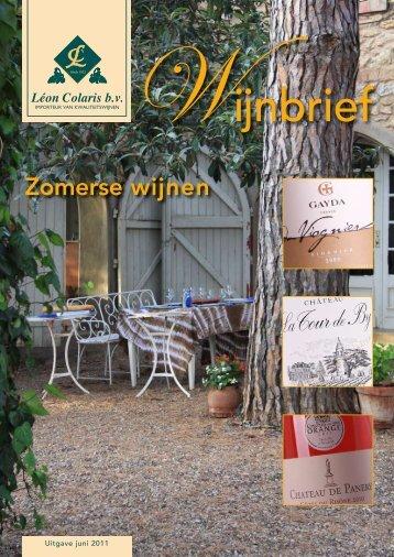 Zomerse wijnen - Colaris