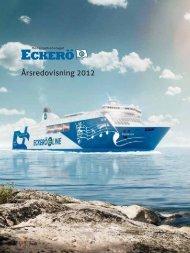 Årsredovisning för verksamhetsåret 1.1.2012 - Rederi Ab Eckerö