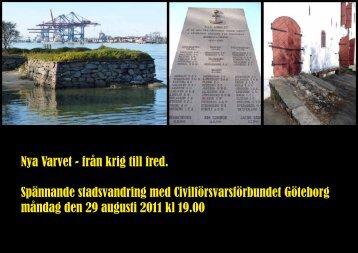 Nya Varvet - Civilförsvarsförbundet Göteborg