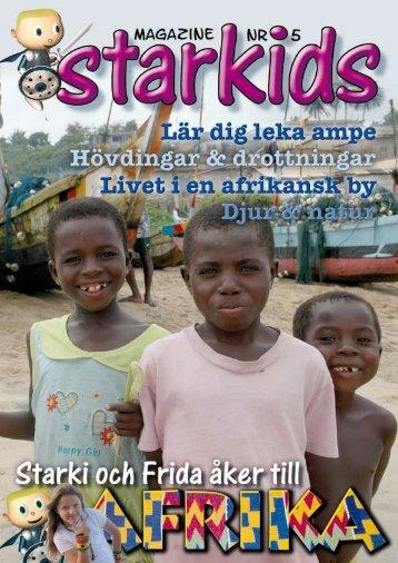 Starkids magazine nr 5 - Starki och Frida i Afrika.pdf - Kids With ...