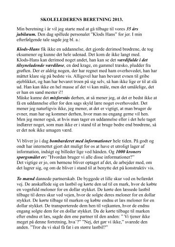 Helles - Sydthy Friskole