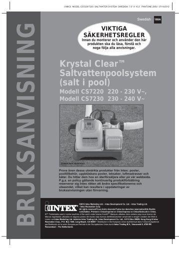 Hämta beskrivning i PDF-format - Intex Nordic