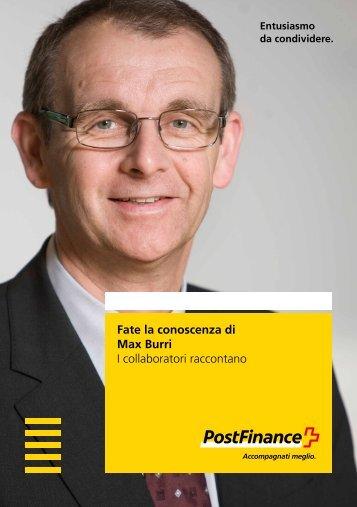 Fate la conoscenza di Max Burri – I collaboratori raccontano