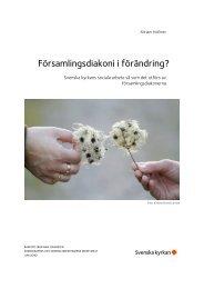 Församlingsdiakoni i förändring? - Svenska kyrkan