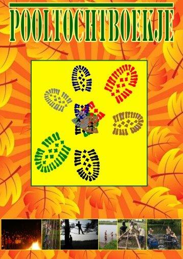 Download het Pooltochtboekje - Pooltochten