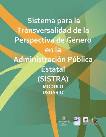 Sistema para la Transversalidad de la Perspectiva de Género en la ...
