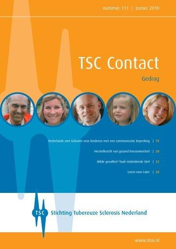 Zomer 2010 - Stichting Tubereuze Sclerosis Nederland