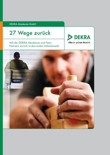 27 Wege zurück - Dekra-Trainer