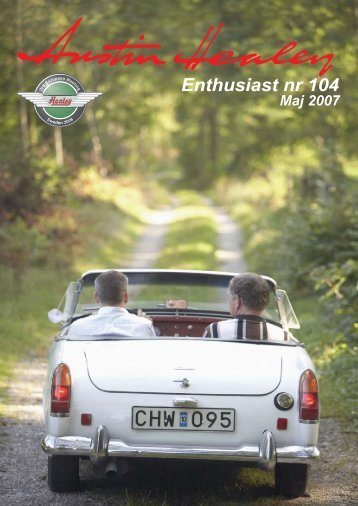 Enthusiast nr 104 - Austin Healey Club Sweden