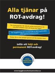 Alla tjänar på ROT-avdrag! - Publikationer från Sveriges ...