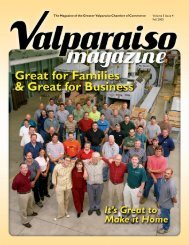 Fall 2005 - The Greater Valparaiso Chamber of Commerce