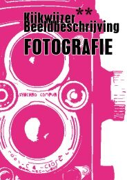 Basic: fotografie - Fotomuseum Den Haag