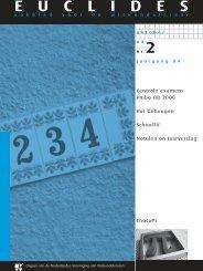 84-2 - Nederlandse Vereniging van Wiskundeleraren