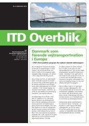 Udskriftsvenlig version af ITD Overblik 2, september 2012