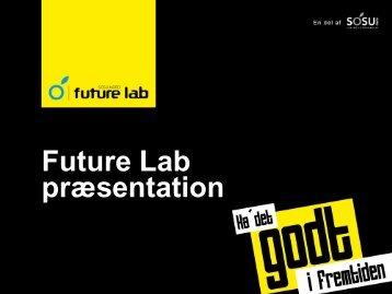 Future Lab præsentation - SOSU Nord