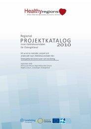 Healthy Regions Projek... - Regionförbundet Östsam