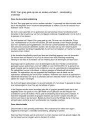 Handleiding onderwijs - ADV Limburg