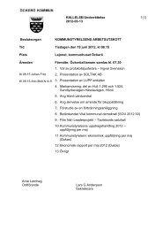 2012-06-13 Beslutsorgan ... - Öckerö kommun
