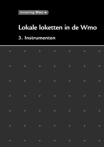 instrumenten lokale loketten - Invoering Wmo