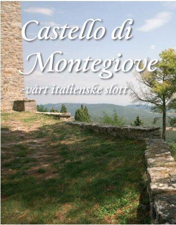 -vårt italienske slott - Castello di Montegiove