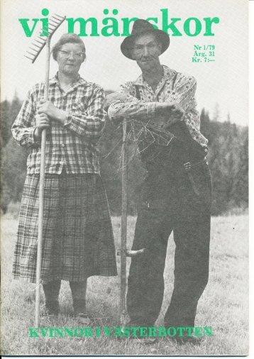 1979/1 - Vi Mänskor