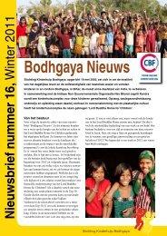 nieuwsbrief 16 - Stichting Kinderhulp Bodhgaya