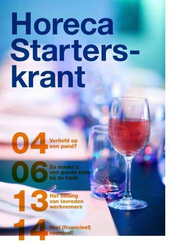 Horeca Starterskrant - Svh