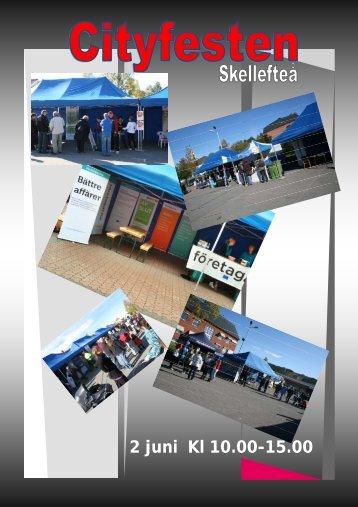 2 juni Kl 10.00-15.00 - Skellefteå
