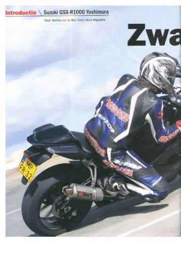 Moto 73 test GSX-R1000 Yoshimura - Suzuki