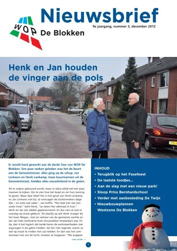 december - Woningstichting Hellendoorn