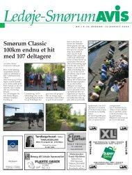 Smørum Classic 100km endnu et hit med 107 deltagere