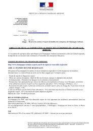 Objet : AIDES ET SOUTIENS A L'EXPORTATION AU ... - Direccte